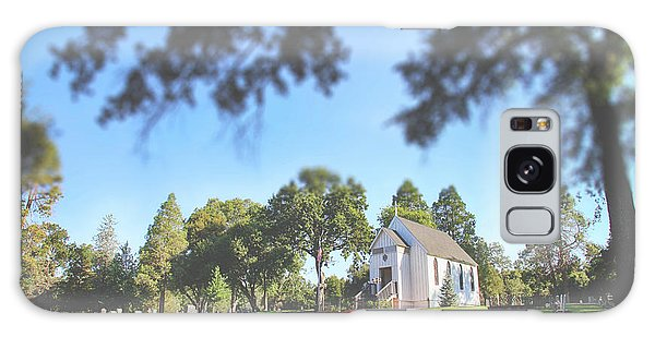 Place Of Worship Galaxy Case - Rest Now Your Weary Souls by Laurie Search