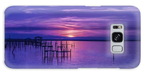Rest Well World Purple Sunset Galaxy Case