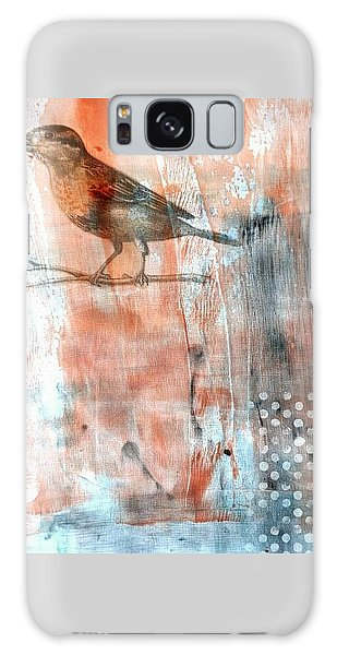Galaxy Case featuring the mixed media Restful Moment by Rose Legge