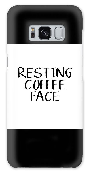 Resting Coffee Face-art By Linda Woods Galaxy Case