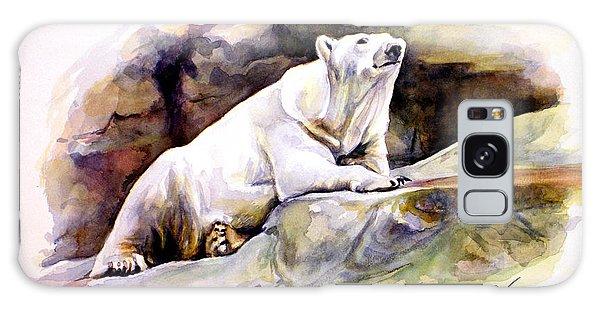 Resting Polar Bear Galaxy Case