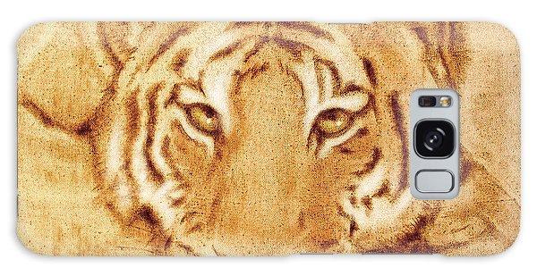 Resting Tiger Galaxy Case