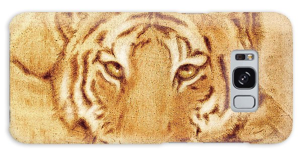 Resting Tiger Galaxy Case