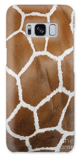 Reticulated Giraffe #2 Galaxy Case