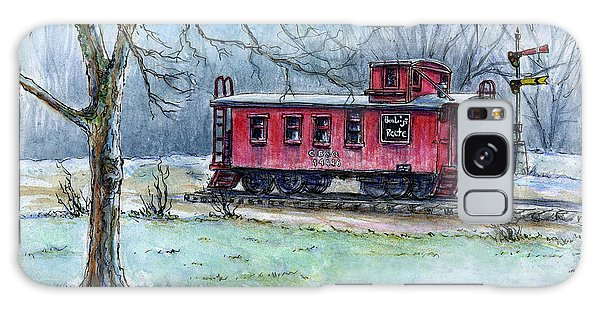 Retired Red Caboose Galaxy Case