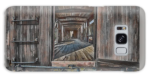 Retired Train Car Jamestown Galaxy Case by Steve Siri