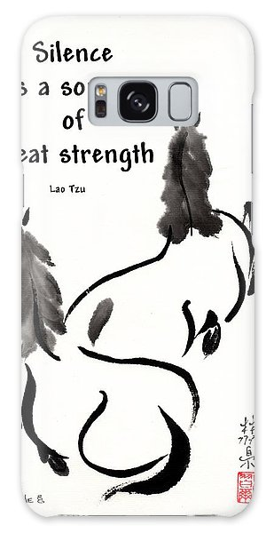 Retired With Lao Tzu Quote IIi Galaxy Case by Bill Searle