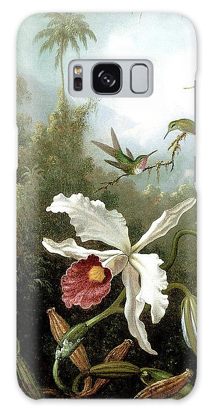 Retouched Masters - Orchid And Hummingbirds In Tropical Forest Galaxy Case