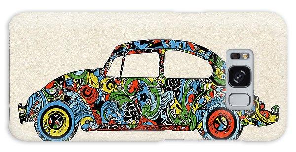 Sixties Galaxy Case - Retro Beetle Car 3 by Bekim M