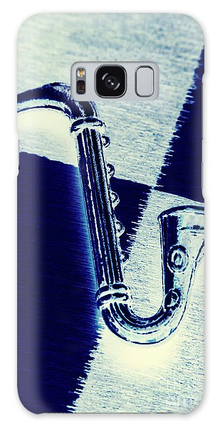 Saxophone Galaxy S8 Case - Retro Blues by Jorgo Photography - Wall Art Gallery