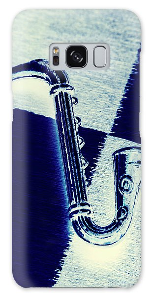 Trumpet Galaxy S8 Case - Retro Blues by Jorgo Photography - Wall Art Gallery