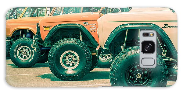 Galaxy Case featuring the photograph Retro Bronco Heaven by SR Green