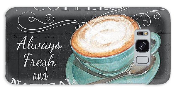 Restaurants Galaxy Case - Retro Coffee 1 by Debbie DeWitt