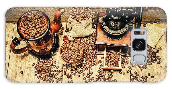 Cafe Galaxy Case - Retro Coffee Bean Mill by Jorgo Photography - Wall Art Gallery