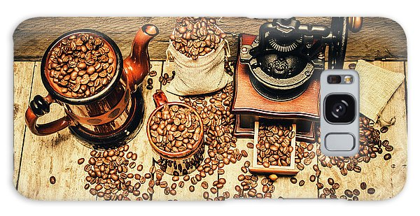 Retro Coffee Bean Mill Galaxy Case by Jorgo Photography - Wall Art Gallery