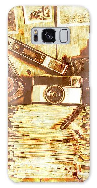 Vintage Camera Galaxy Case - Retro Film Cameras by Jorgo Photography - Wall Art Gallery