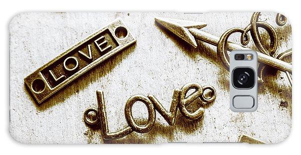 Pendant Galaxy Case - Retro Love Heart Jewels  by Jorgo Photography - Wall Art Gallery