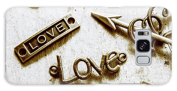 Decorative Galaxy Case - Retro Love Heart Jewels  by Jorgo Photography - Wall Art Gallery