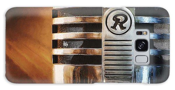 Jazz Galaxy Case - Retro Microphone by Scott Norris