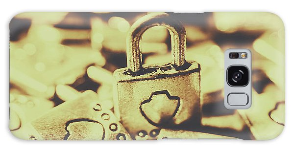 Safe Galaxy Case - Retro Padlock Protection by Jorgo Photography - Wall Art Gallery