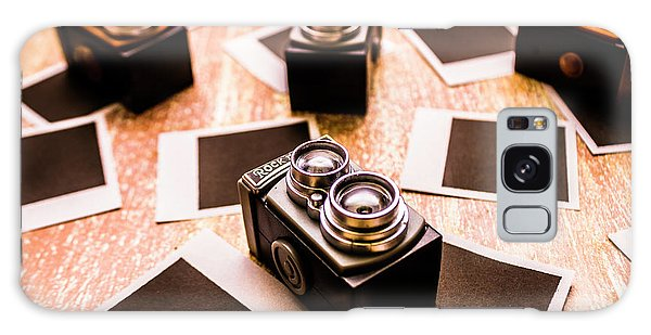 Vintage Camera Galaxy Case - Retro Photographic Scene by Jorgo Photography - Wall Art Gallery