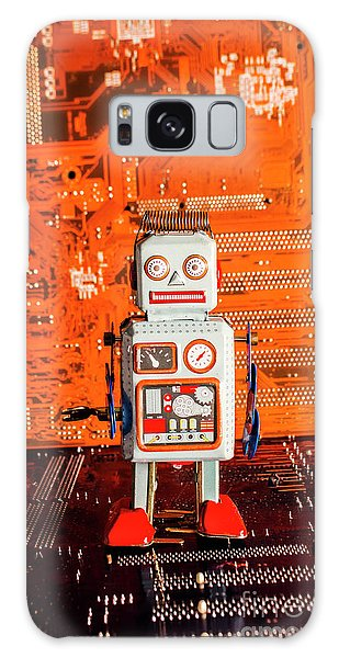Technology Galaxy Case - Retro Robotic Nostalgia by Jorgo Photography - Wall Art Gallery