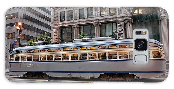 Retro San Francisco Streetcar Galaxy Case