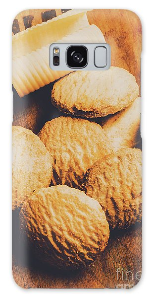 Faded Galaxy Case - Retro Shortbread Biscuits In Old Kitchen by Jorgo Photography - Wall Art Gallery