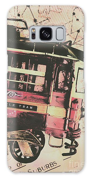Victoria Galaxy Case - Retro Streets And Urban Trams by Jorgo Photography - Wall Art Gallery