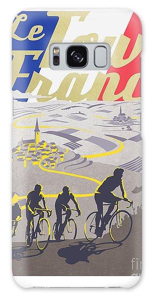 Retro Tour De France Galaxy Case