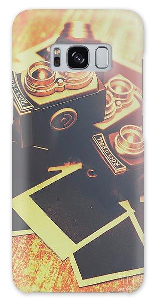 Camera Galaxy Case - Retro Twin Lens Reflex Cameras by Jorgo Photography - Wall Art Gallery