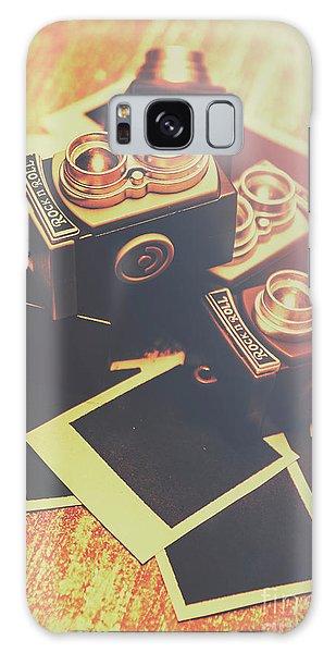 Vintage Camera Galaxy Case - Retro Twin Lens Reflex Cameras by Jorgo Photography - Wall Art Gallery