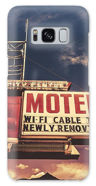 1950s Galaxy Case - Retro Vintage Motel Sign by Mr Doomits