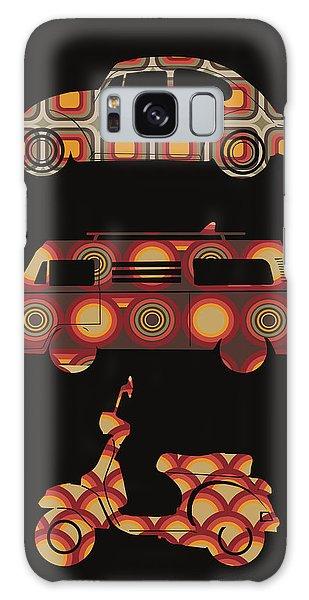 Sixties Galaxy Case - Retro Wheels 70s by Bekim M