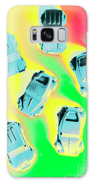Old Car Galaxy Case - Retroactive Racing by Jorgo Photography - Wall Art Gallery