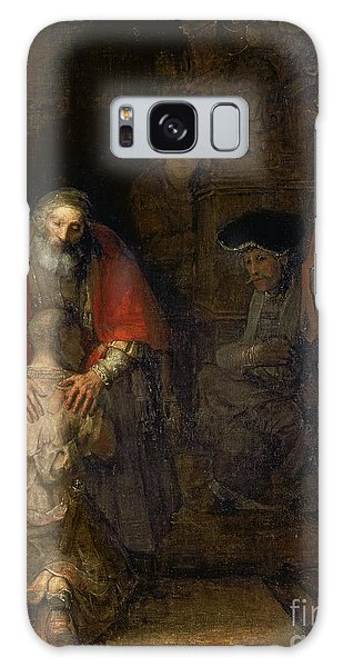 New Testament Galaxy Case - Return Of The Prodigal Son by Rembrandt Harmenszoon van Rijn