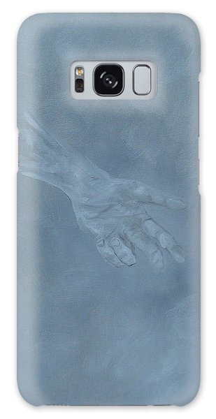 Galaxy Case featuring the painting Return To Dust by Judith Rhue