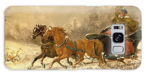 Whip Galaxy Case - Returning Home In Winter by Charles Ferdinand De La Roche