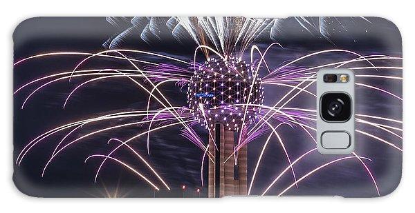 Reunion Tower Fireworks Galaxy Case