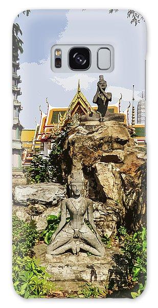 Reusi Dat Ton Statues At Wat Pho Galaxy Case