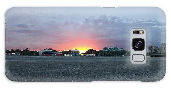 Revere Beach Sunset Galaxy Case
