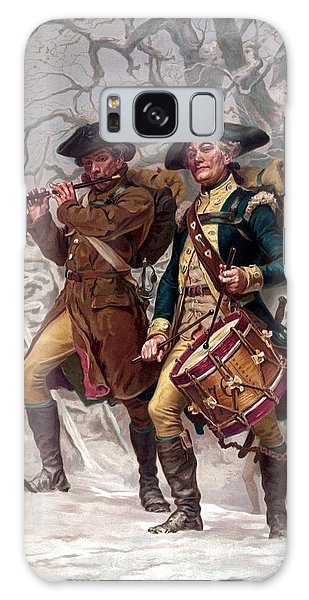 Battle Galaxy Case - Revolutionary War Soldiers Marching by War Is Hell Store