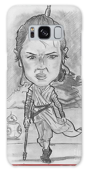 Rey The Force Awakens Galaxy Case