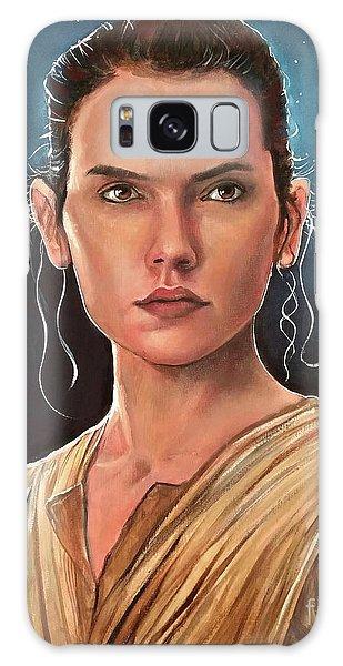 Rey Galaxy Case by Tom Carlton