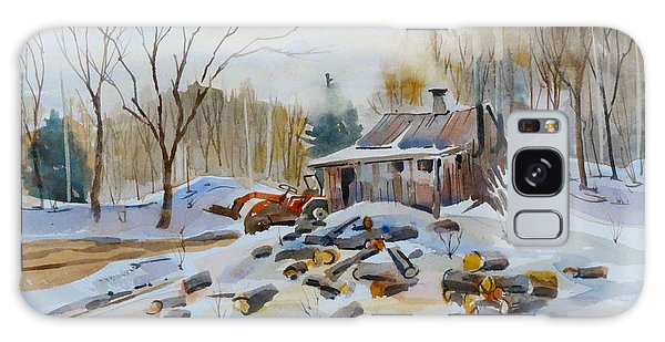 Galaxy Case featuring the painting Reynold's Sugar Shack by David Gilmore
