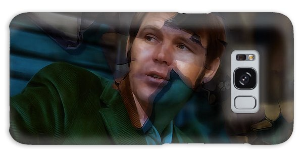 Galaxy Case featuring the mixed media Rhinestone Cowboy Glen Campbell by Marvin Blaine