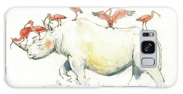 Rhino And Ibis Galaxy Case