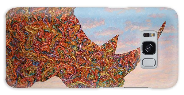 Abstract Landscape Galaxy Case - Rhino-shape by James W Johnson