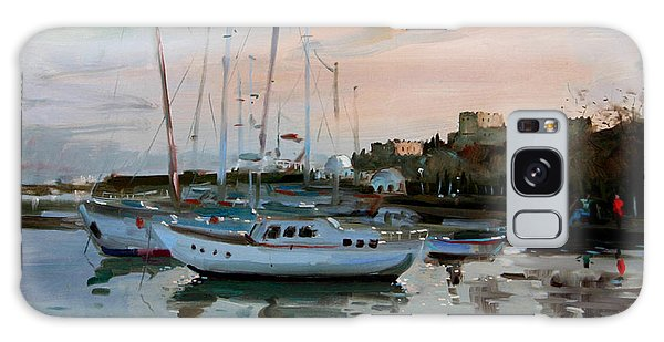 Marina Galaxy Case - Rhodes Mandraki Harbour by Ylli Haruni