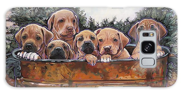 Rhodesian Ridgeback Puppies Galaxy Case
